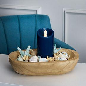 Scott Living Flameless 3'' x 6'' LED Wax Pillar Candle