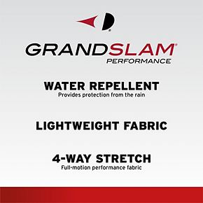 Men's Grand Slam Water-Repellent Full-Zip Golf Jacket