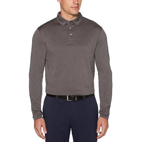 Men's Grand Slam Classic-Fit Long Sleeve Performance Golf Polo