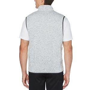 Men's Grand Slam Midweight Sweater Knit Fleece Golf Vest