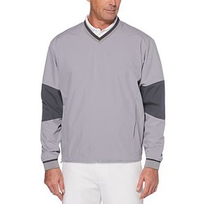 Men's Grand Slam Classic-Fit Water-Repellent Golf Pullover