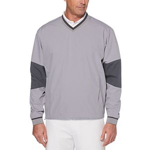 Men's Grand Slam Classic-Fit Water-Repellent Golf Pullover