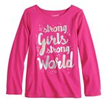 Girls 4-12 Jumping Beans® Adaptive Graphic Tee