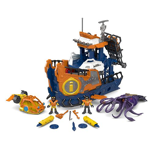 Imaginext® Deep Sea Mission Command Boat by Imaginext