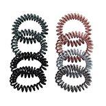 Coil Scrunchie Hair Tie Set