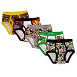 Boys 4-20 Angry Birds Movie 5-Pack Briefs