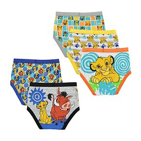 Boys 4-20 Disney Lion King 5-Pack Briefs