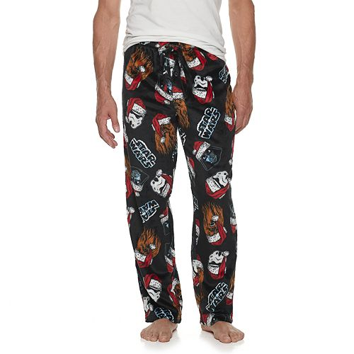 Kohls Mens 2-Pack Patterned and Solid Microfleece Lounge Pants XL