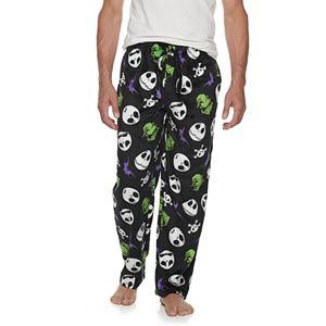 "Men's ""The Nightmare Before Christmas"" Jack Skellington Fleece Sleep Pants"
