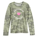 Girls 7-16 Mudd® Long Sleeve Graphic Tee