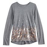 Girls 7-16 Mudd® Long Sleeve Graphic Tee
