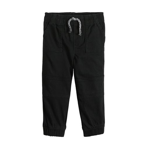 Toddler Boy Jumping Beans® Twill Jogger Pants