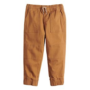 Toddler Boy Jumping Beans® Twill Joggers