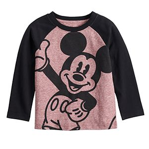 Disney's Mickey Mouse Toddler Boy Smiling Mickey Raglan Sleeve Tee by Jumping Beans