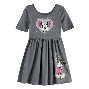 Disney's Minnie Mouse Girls 4-12 Graphic Skater Dress by Jumping Beans®