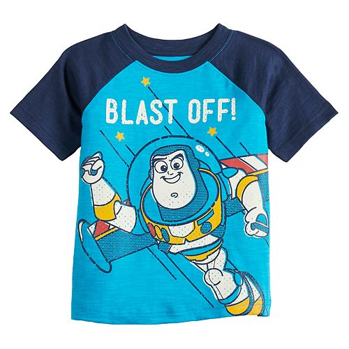 Disney / Pixar's Toy Story Buzz Lightyear Baby Boy Graphic Tee by Jumping Beans®