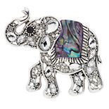 Napier Elephant Pin