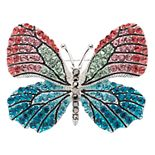 Napier Colorful Butterfly Pin
