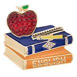 Napier School Books Pin