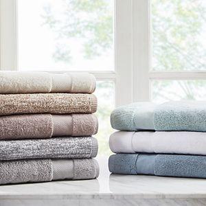 Madison Park Signature Melange Turkish Cotton Jacquard 6-piece Bath Towel Set