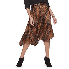 Women's Apt. 9 Midi Handkerchief Skirt