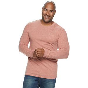 Big & Tall SONOMA Goods for Life® Supersoft Slim-Fit Pocket Crewneck Tee
