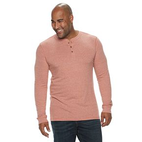 Big & Tall SONOMA Goods for Life? Supersoft Slim-Fit Henley