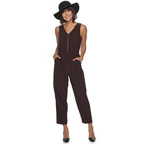 Women's Apt. 9® Sleeveless Zipper Jumpsuit