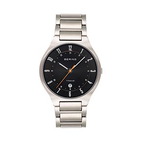 BERING Men's Titanium Watch - 11739-772