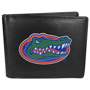 Men's Florida Gators Leather Bi-Fold Wallet