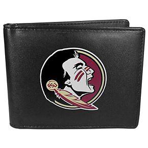 Men's Florida State Seminoles Leather Bi-Fold Wallet