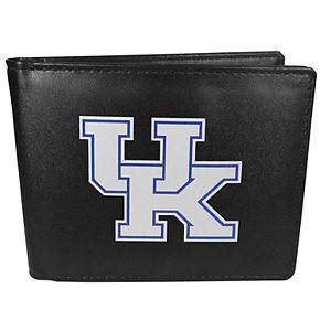 Men's Kentucky Wildcats Leather Bi-Fold Wallet