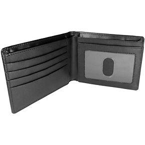 Men's Michigan Wolverines Leather Bi-Fold Wallet