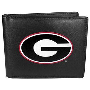 Men's Georgia Bulldogs Leather Bi-Fold Wallet