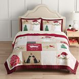 St. Nicholas Square® Farmhouse Patchwork Quilt with Shams