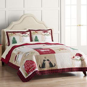 St. Nicholas Square® Holiday Collection Quilt Set