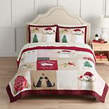 St. Nicholas Square® Holiday Collection Quilt with Shams