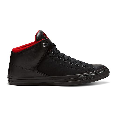 Converse Chuck Taylor High Street Men's Leather Shoes Black