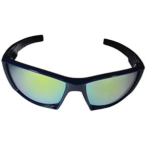 Adult Michigan Wolverines Edge Wrap Sunglasses