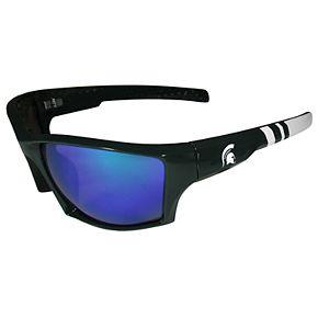 Adult Michigan State Spartans Edge Wrap Sunglasses