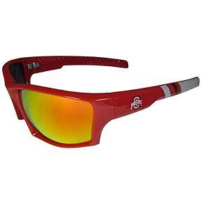 Adult Ohio State Buckeyes Edge Wrap Sunglasses