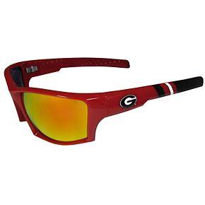 Adult Georgia Bulldogs Edge Wrap Sunglasses