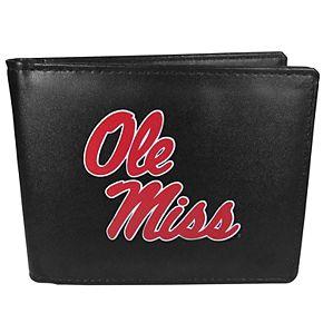 Ole Miss Rebels Logo Bi-Fold Wallet