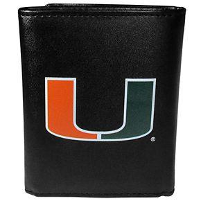 Men's Miami Hurricanes Tri-Fold Wallet