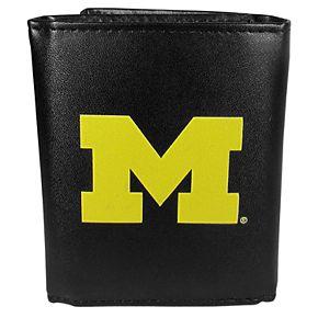 Men's Michigan Wolverines Tri-Fold Wallet
