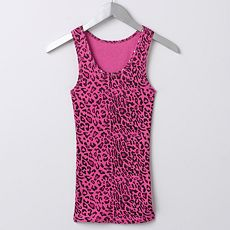 Abbey Dawn Leopard Tank