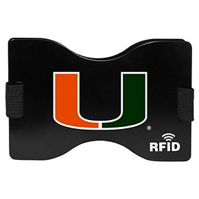 Men's Miami Hurricanes RFID Wallet