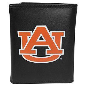 Men's Auburn Tigers Leather Tri-Fold Wallet