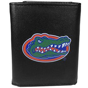 Men's Florida Gators Leather Tri-Fold Wallet