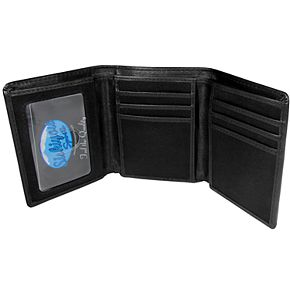 Men's Michigan Wolverines Leather Tri-Fold Wallet